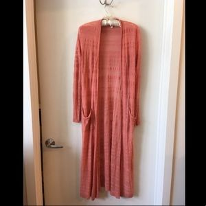 Anthropologie Moth Full Length Cardigan